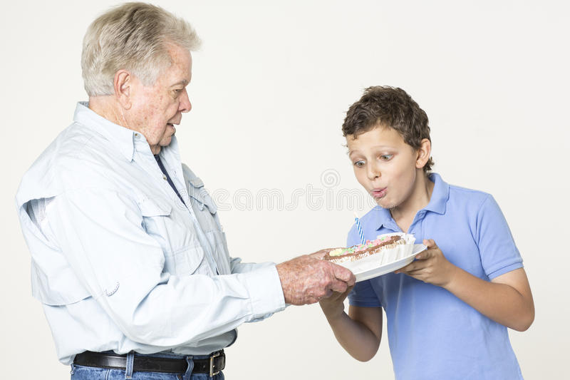 Download Happy Birthday stock image. Image of grandson, surprise - 33488491