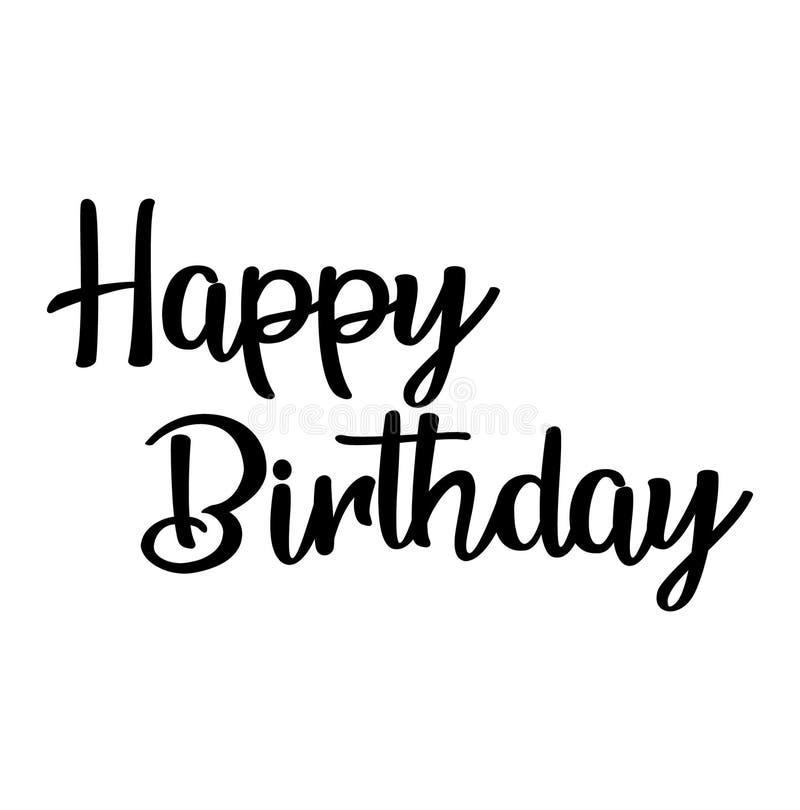 Happy Birthday Script Stock Illustrations 5 556 Happy Birthday Script Stock Illustrations Vectors Clipart Dreamstime