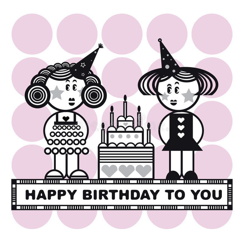 Download Happy birthday to you stock illustration. Illustration of heart - 3727239