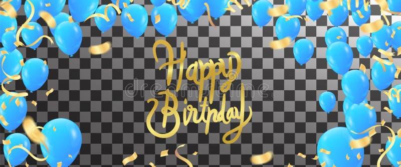 Happy birthday vector Celebration party print design. Handwritten modern brush lettering white background isolated vector royalty free illustration