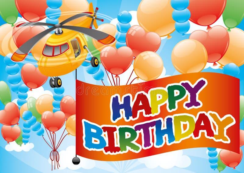 Happy Birthday. royalty free illustration
