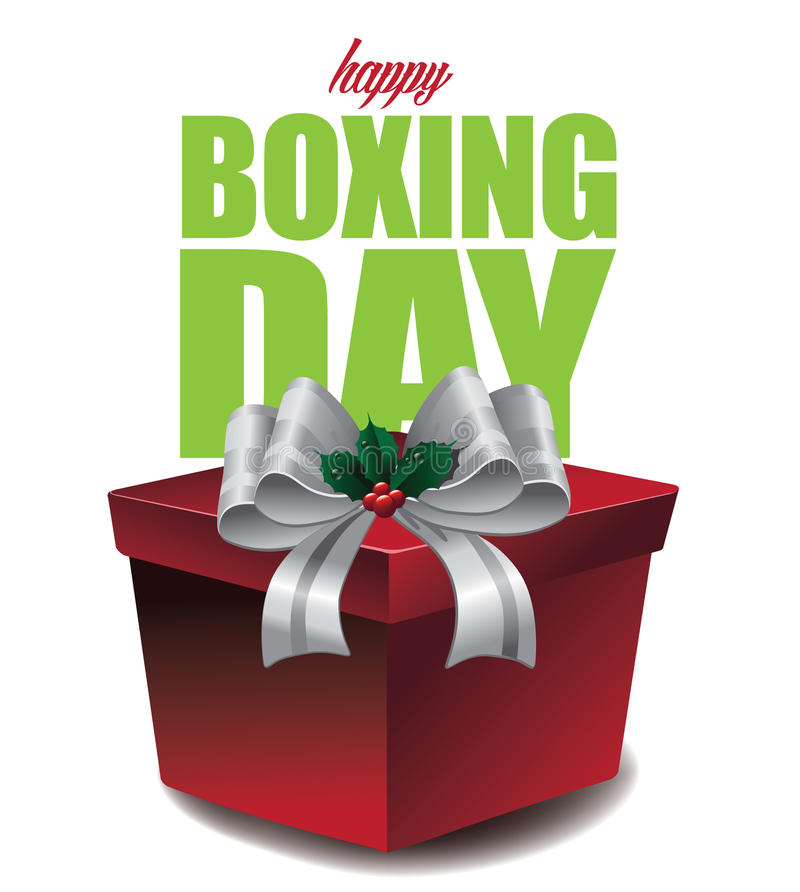 Free Happy Boxing Day Design Stock Images - 60506624