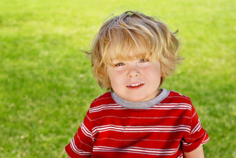 Happy boy stock photo