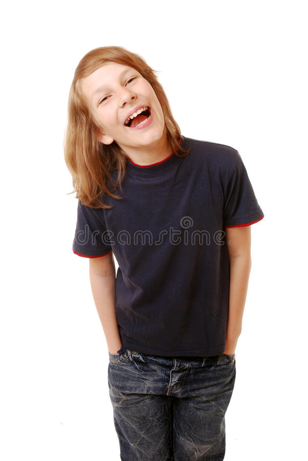 Download Happy boy stock photo. Image of child, hair, hands, smile - 19648330