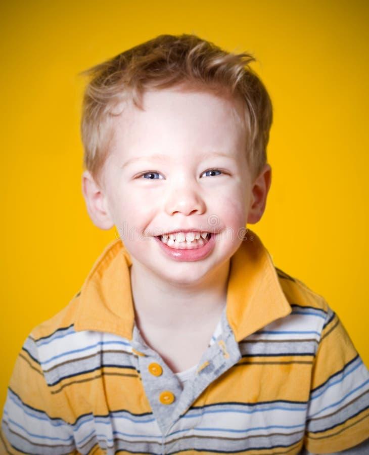 Download Happy boy stock image. Image of toddler, studio, blond - 8514925
