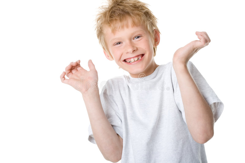Happy boy royalty free stock image