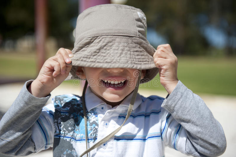 Download Happy Boy At Playground Stock Image - Image: 21680801