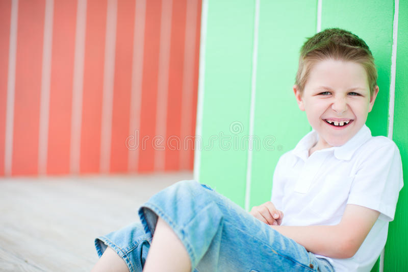 Download Happy boy portrait stock image. Image of cheerful, person - 25002679