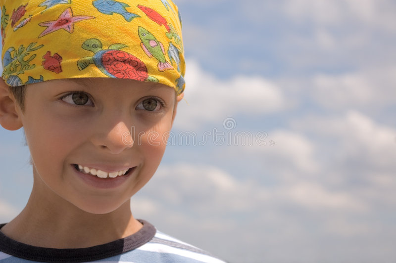 Happy boy's portrait royalty free stock photography