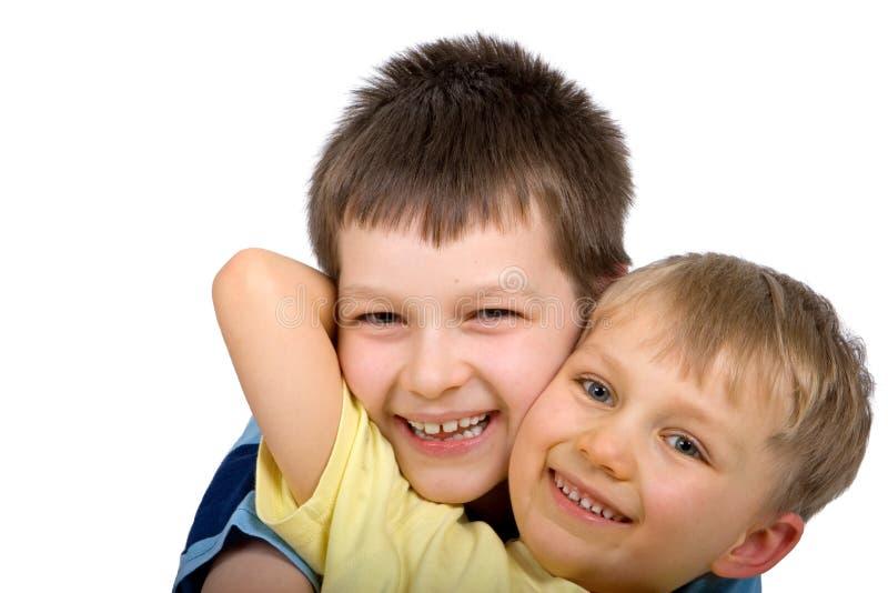 Happy Boys stock photography