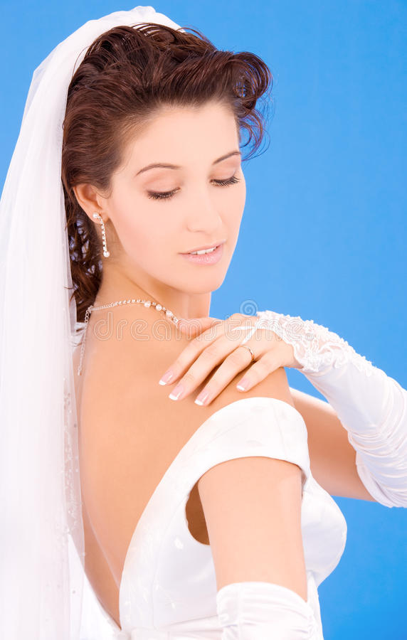 Download Happy bride stock photo. Image of engaged, cute, beauty - 11013366