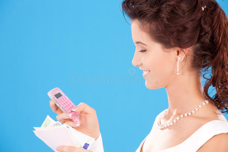 Download Happy bride stock photo. Image of finances, beautiful - 11547544