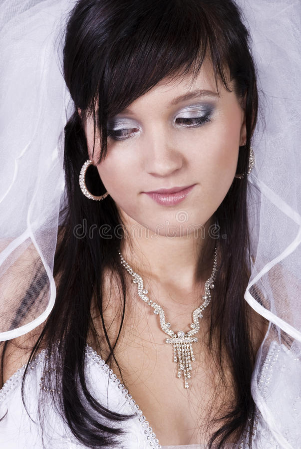 Download Happy bride stock image. Image of desire, face, clothing - 12746695