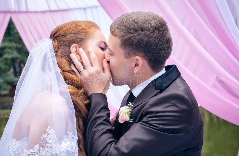 Download Happy Bride and groom stock photo. Image of lifestyle - 28117780