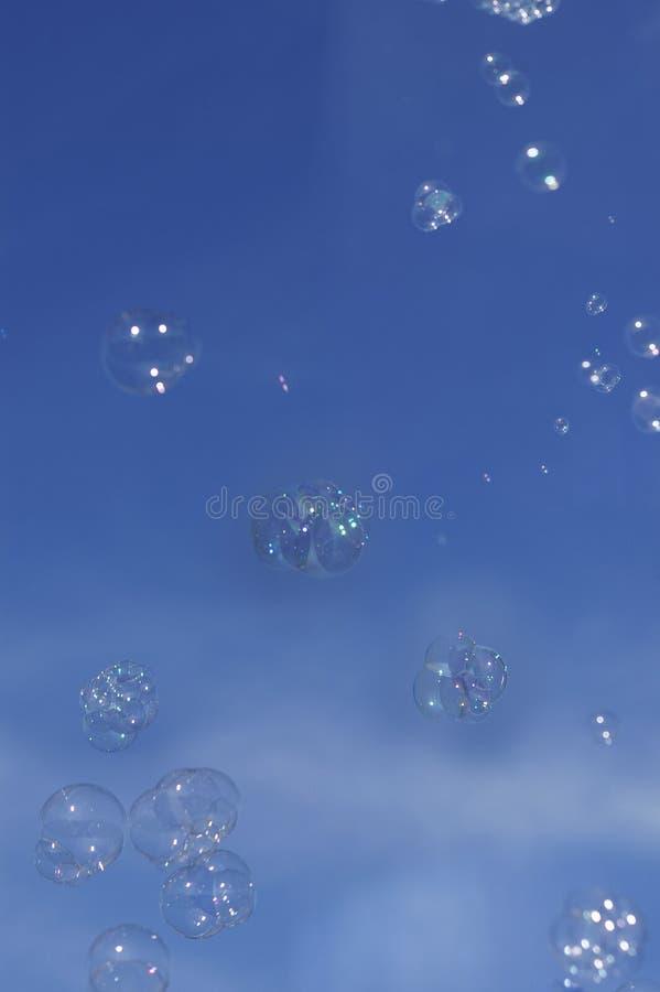 Happy Bubbles stock photos