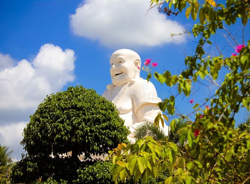Happy Buddha royalty free stock image
