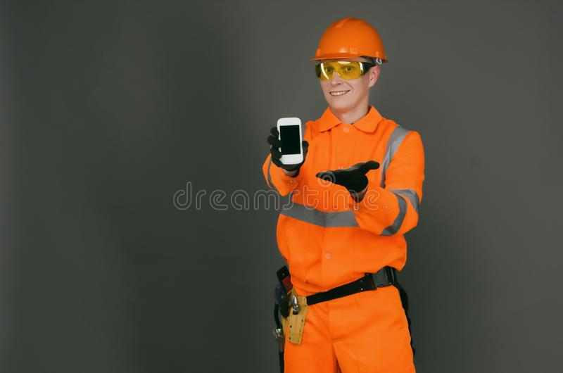Builder. royalty free stock photos