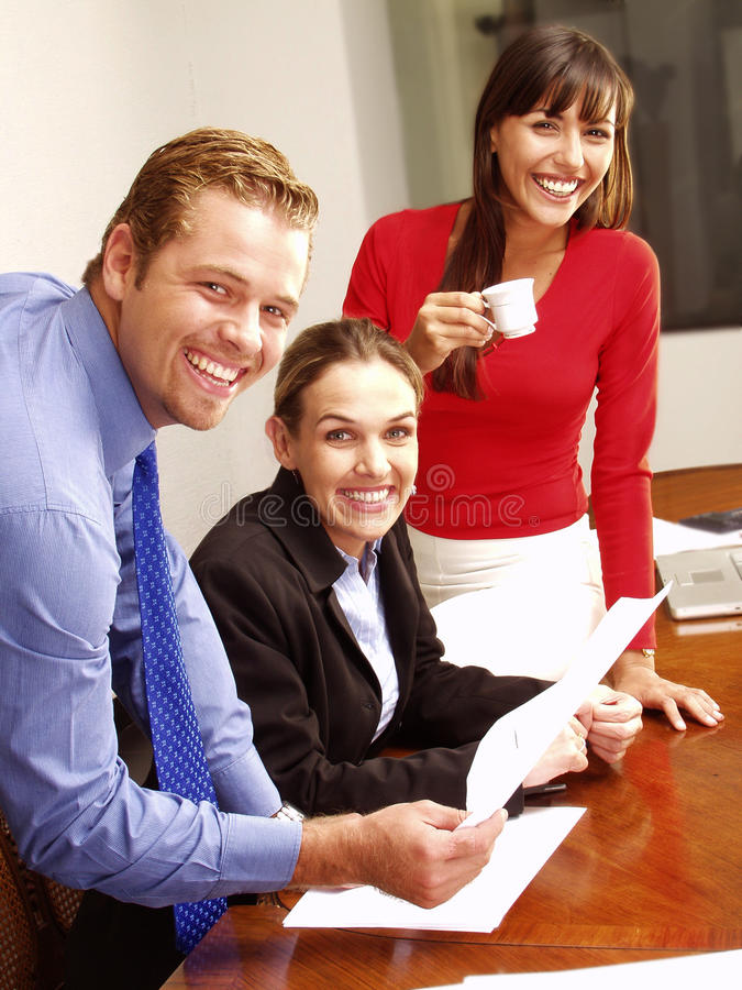 Happy business. royalty free stock photo