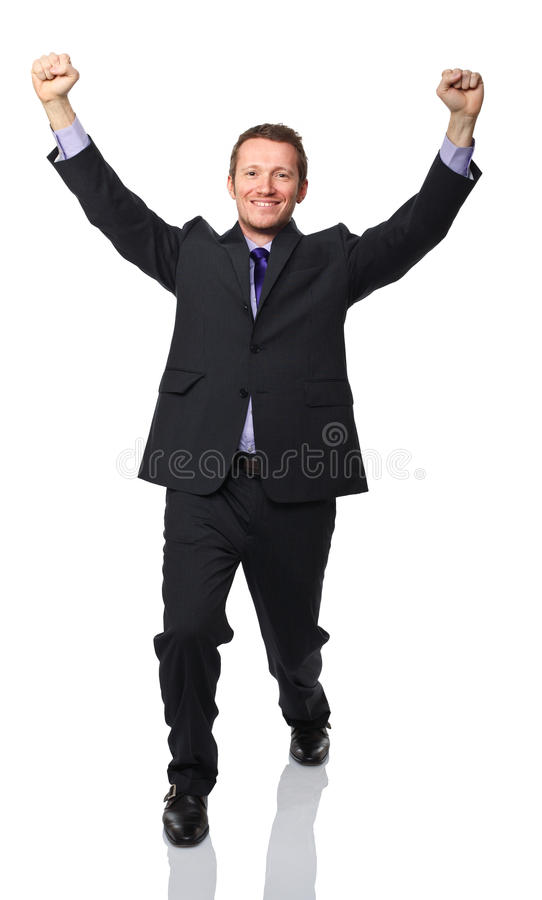 Download Happy business man stock image. Image of vertical, suit - 23463039