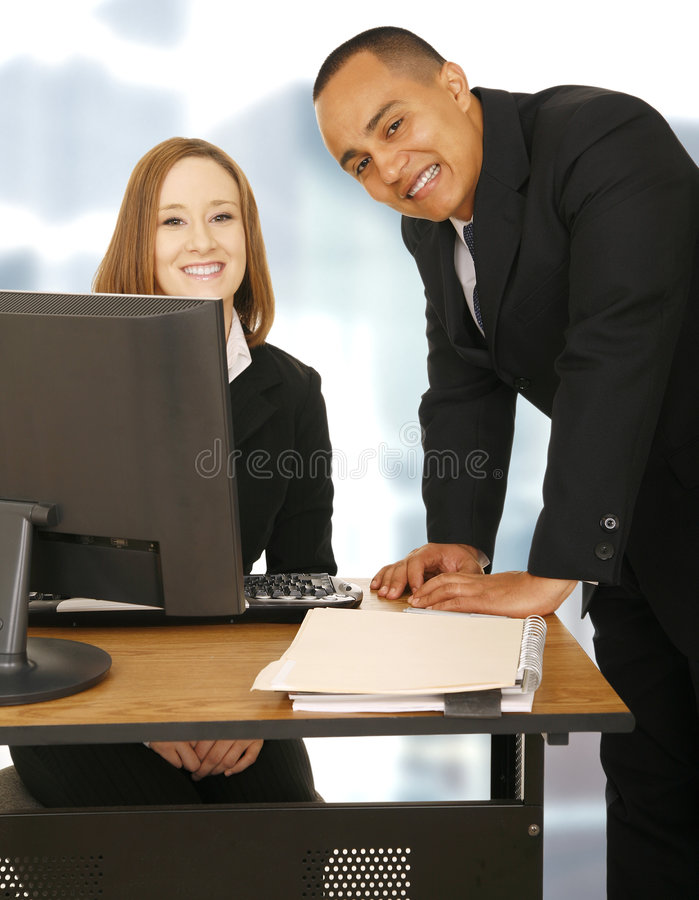 Download Happy Business Team Stay In Office Stock Image - Image: 5324271