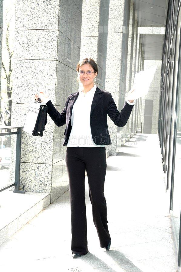Download Happy business woman stock image. Image of concept, challenge - 111689