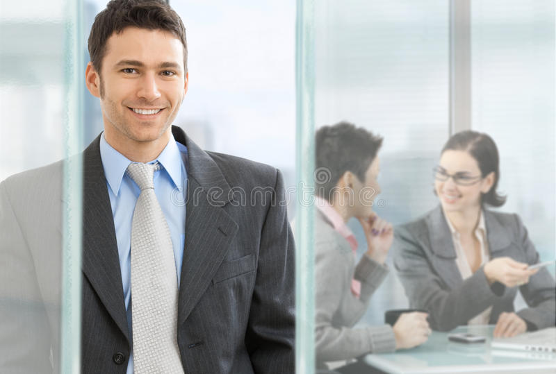 Download Happy businessman stock photo. Image of expression, businesswoman - 11006398