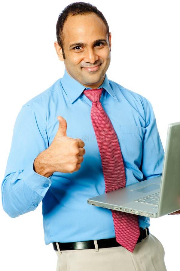 Happy Businessman stock photo