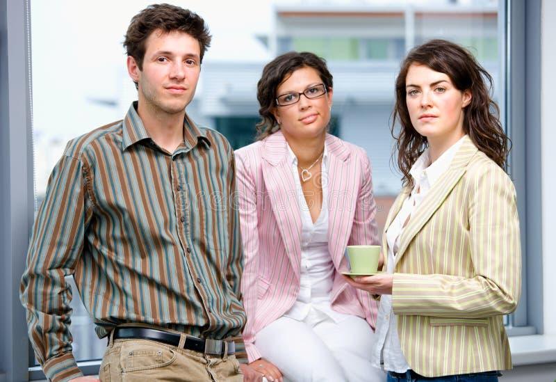 Happy businessteam stock photography