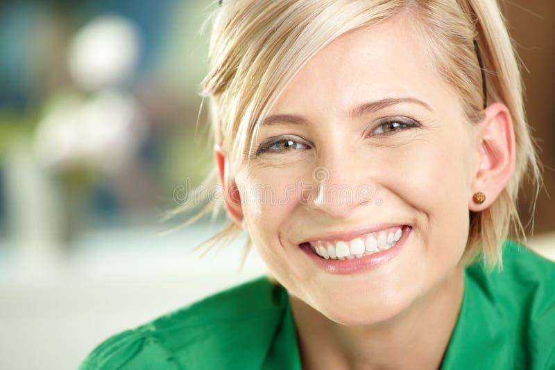 Happy businesswoman stock photos