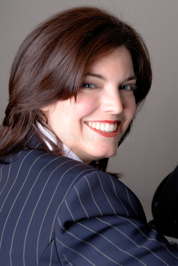 Download Happy Businesswoman Stock Image - Image: 2187311