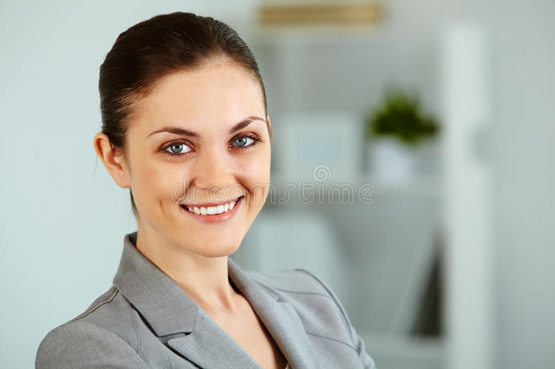 Download Happy businesswoman stock photo. Image of corporate, formalwear - 24739272