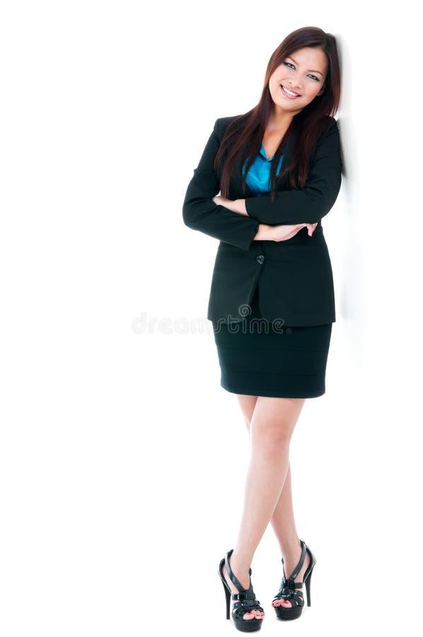 Happy Businesswoman stock photo