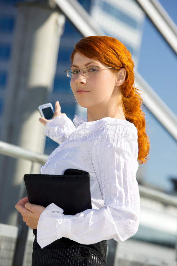 Download Happy businesswoman stock image. Image of lady, attractive - 41470253