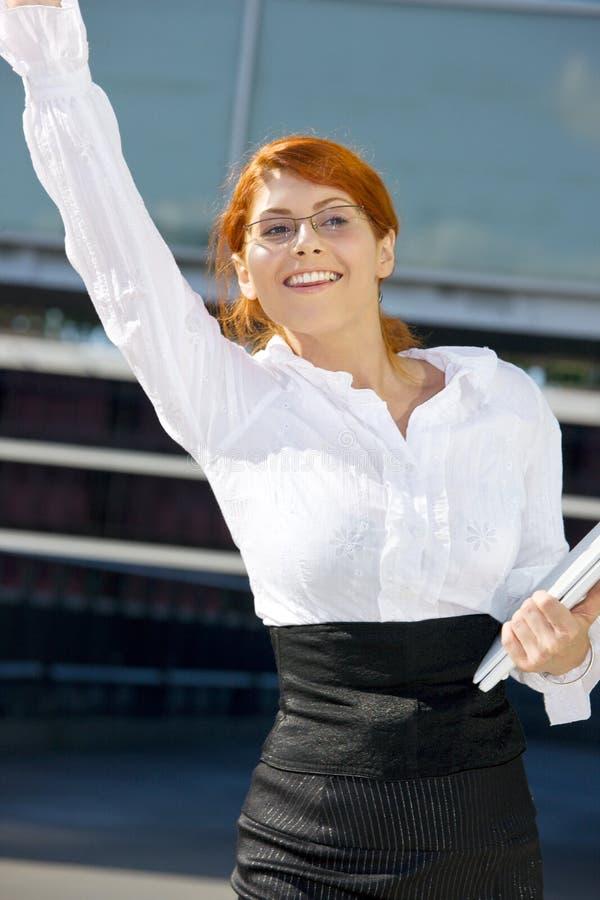Download Happy Businesswoman Stock Photo - Image: 41470285