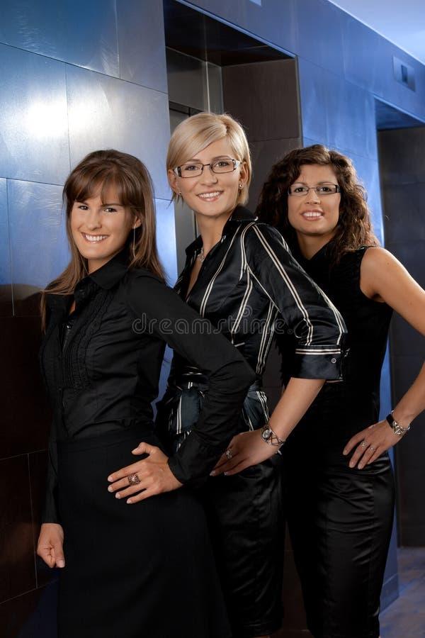 Download Happy businesswomen stock photo. Image of adult, background - 10095538