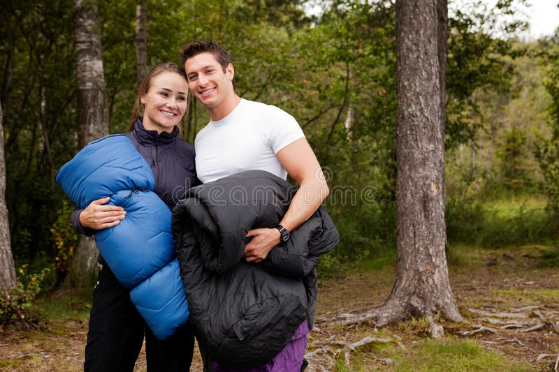 Download Happy Campers stock image. Image of beautiful, healthy - 10827733