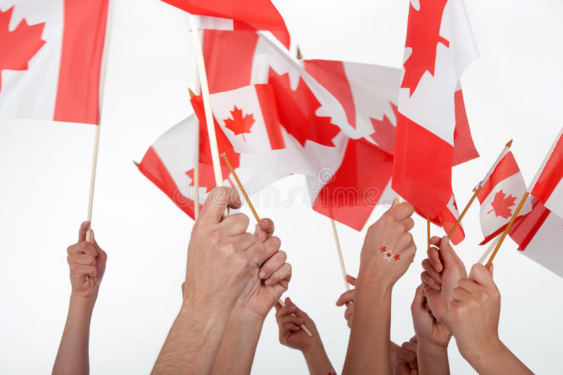 Happy Canada Day! stock image