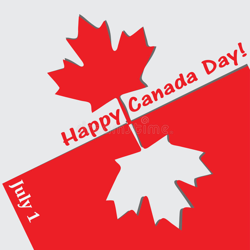 Happy Canada Day Stock Vector. Illustration Of Freedom