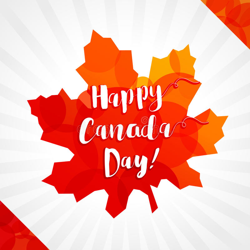 Happy canada day vector greetings stock vector illustration of download happy canada day vector greetings stock vector illustration of holiday flag m4hsunfo