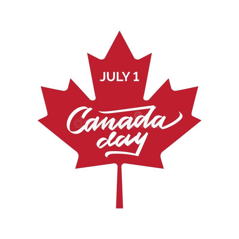 Happy Canada Day Vector Illustration. vector illustration