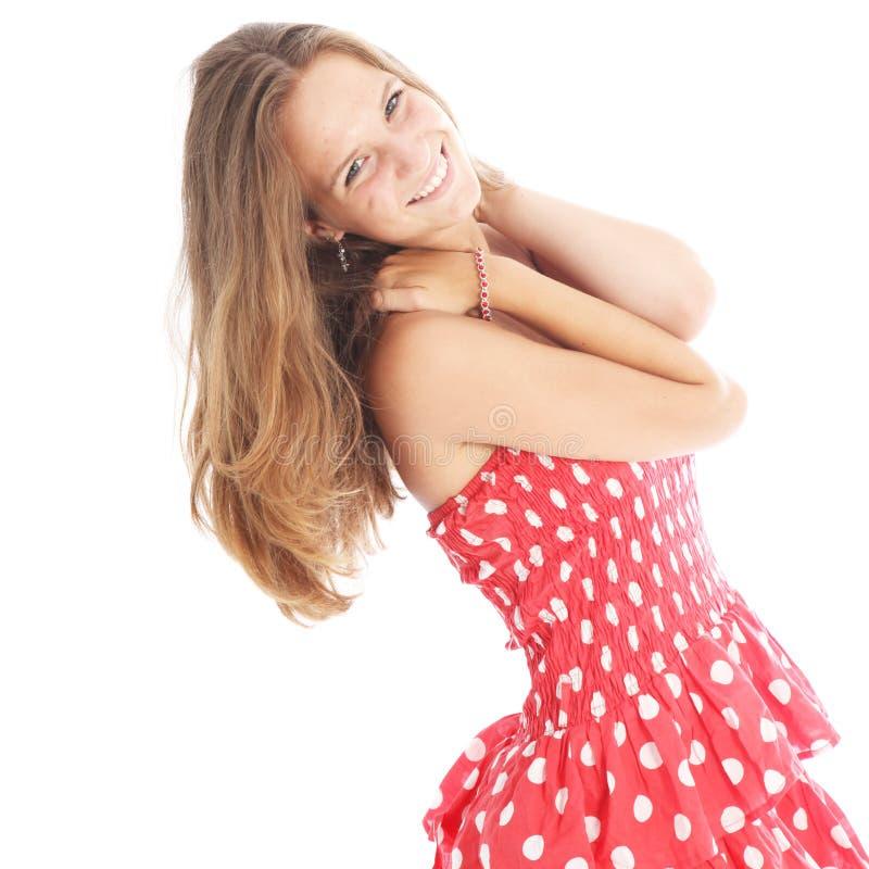 Download Happy Carefree Teenage Girl Stock Photo - Image: 26183816