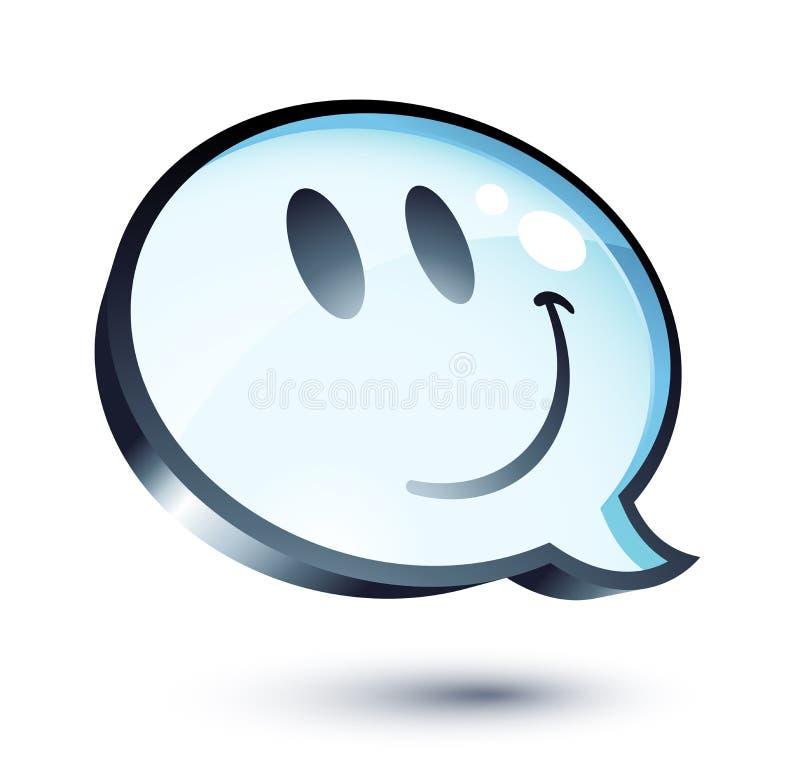 Download Happy cartoon bubble stock vector. Illustration of communication - 9137149
