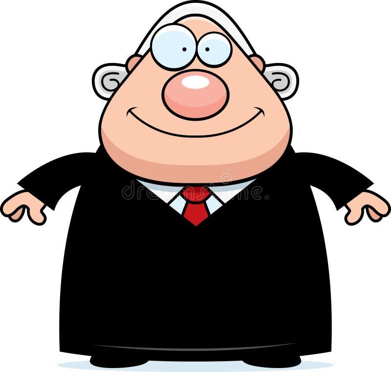 happy cartoon judge stock vector illustration of clipart 51384217 rh dreamstime com judge clipart gif judge clipart