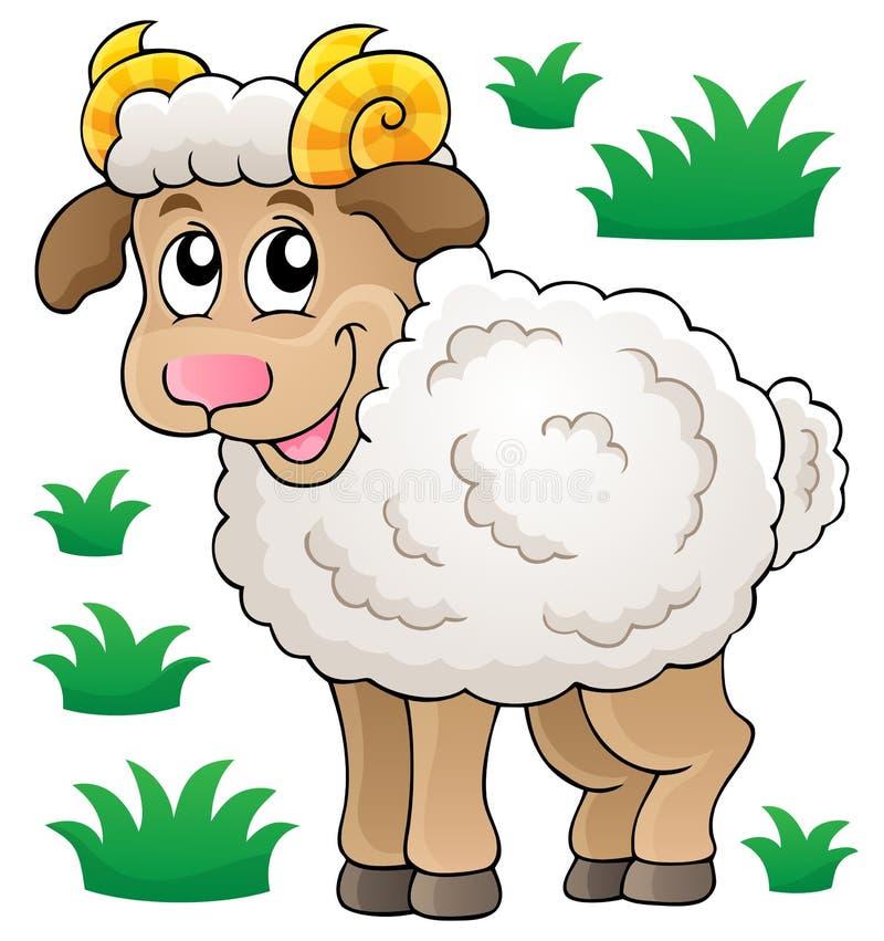 Download Happy Cartoon Ram Royalty Free Stock Photos - Image: 34338758