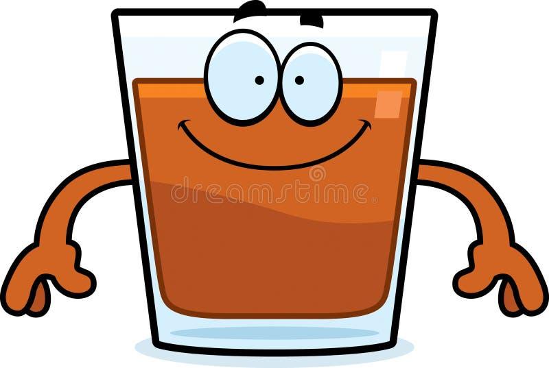 happy cartoon shot glass stock vector illustration of drink rh dreamstime com shot glass clipart images Shot Glass Clip Art Black and White