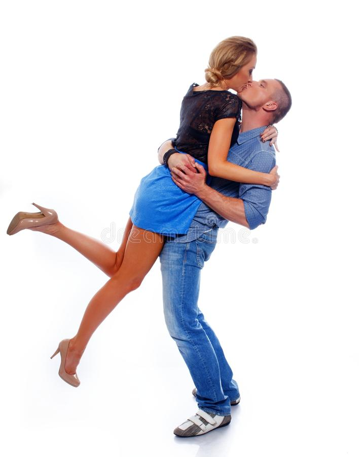 Download Happy  Casual Couple Royalty Free Stock Photos - Image: 34644908