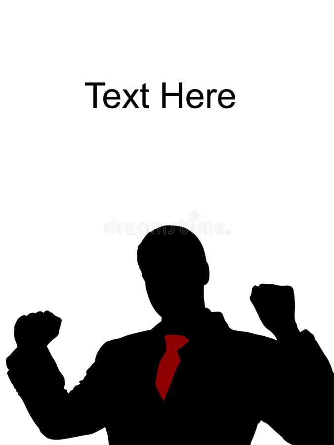 Download Happy Caucasian Businessman Stock Illustration - Image: 7057990