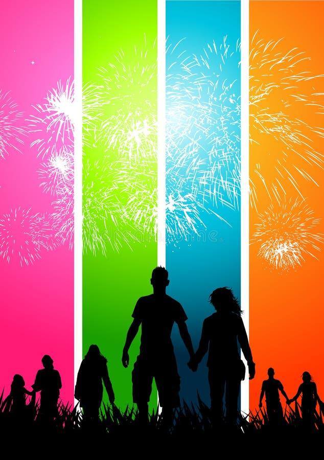 Happy Celebrations royalty free illustration