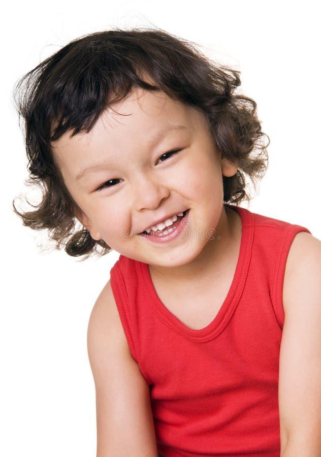 Happy child. stock photo