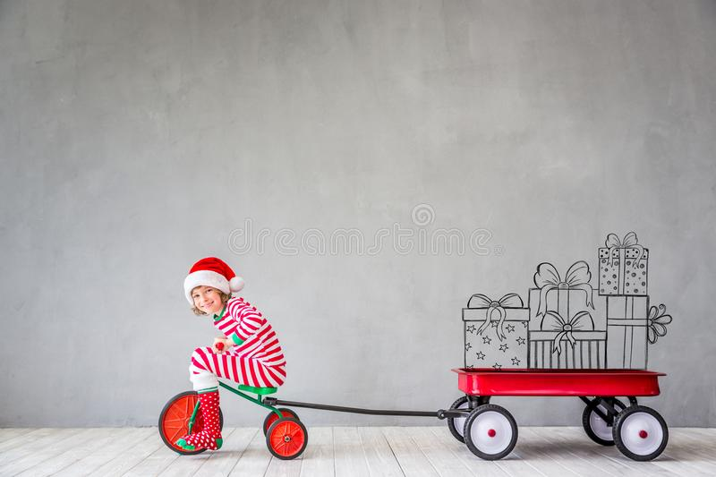 Download Christmas Xmas Winter Holiday Concept Stock Image - Image of child, xmas: 101847363